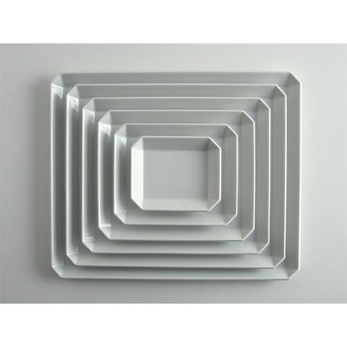 [1616/arita japan] TY Square Plate Set White 스퀘어 플레이트 6종 세트 화이트 아리타재팬